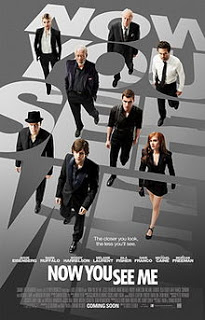 Now You See Me Poster - Now You See Me, Film Bertema Sulap 2013