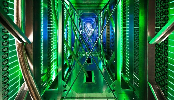 Seperti Apakah Data Center Google 7