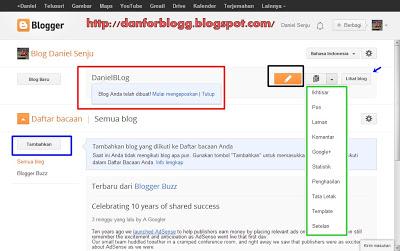 Cara Mudah dan Cepat Membuat Blog