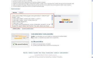 Cara Membuat Widget Donasi Paypal di Blog