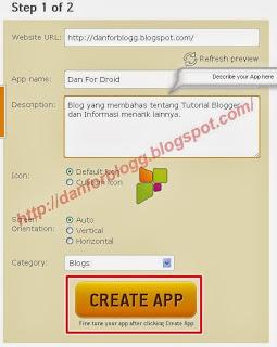 Cara Membuat Aplikasi Android untuk Blog Anda