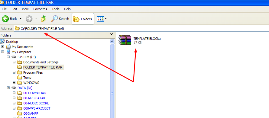 Cara Mudah Membuka File RAR 1