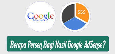 Berapa Persen Bagi Hasil Google AdSense
