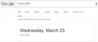 Hal Menarik yang Bisa Di lakukan Google Search - Jadwal Hari Besar