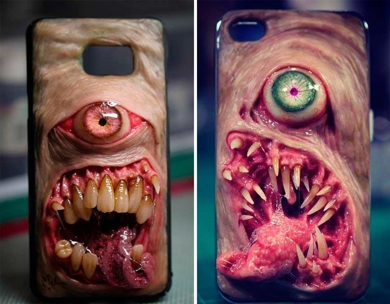 Seni Desain Casing Ponsel Mengerikan