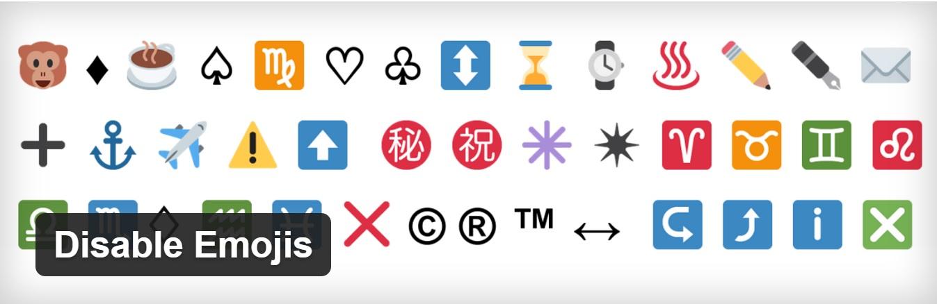 Cara Menonaktifkan Emojis di WordPress