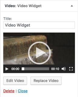 Fitur Terbaru Di WordPress 4.8 - video widget