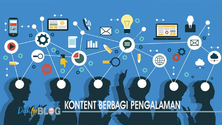 Berbagi Pengalaman, Opini Pribadi - Tips Memilih Konten Utama Untuk Postingan Blog Bagi Blogger Pemula