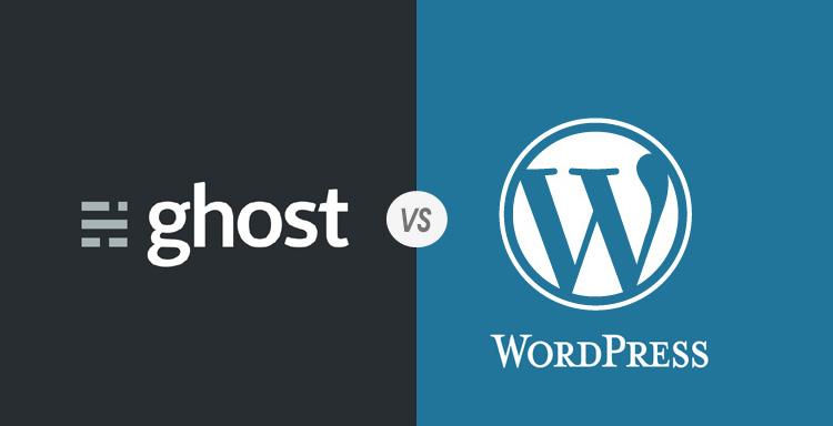 Ghost Siap Menyalip Wordpress