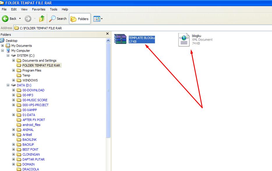 Cara Mudah Membuka File RAR 4