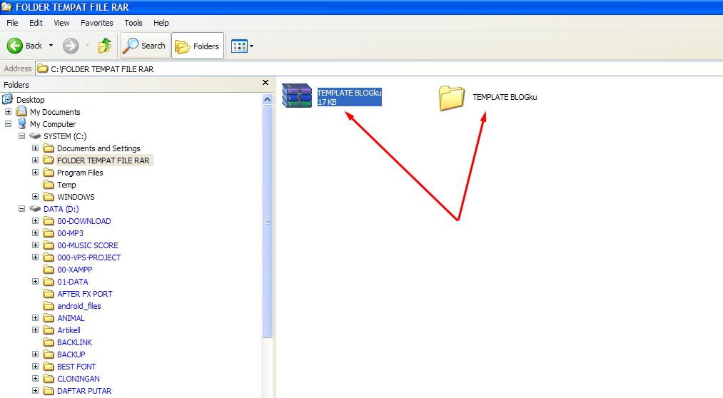Extract to [Nama File RAR] - Cara Mudah Membuka File RAR