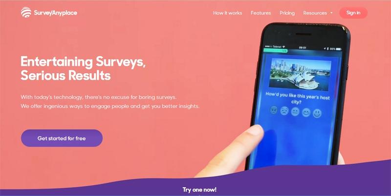 Survey Anyplace (surveyanyplace.com)
