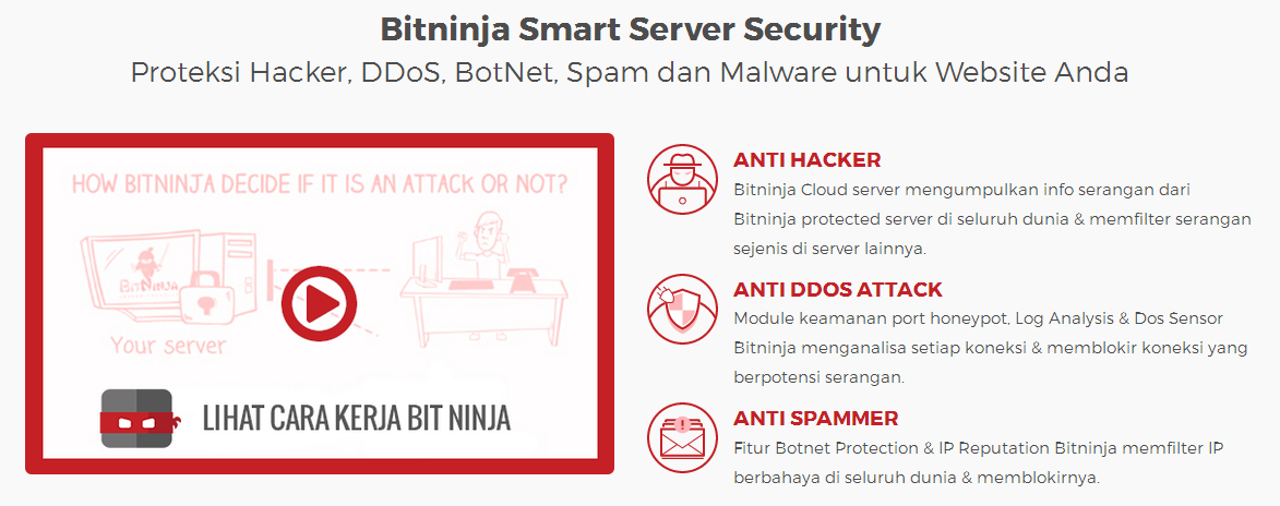 Bitninja Smart Server Security