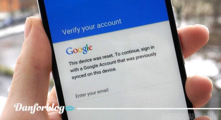 Cara Bypass Verifikasi Akun Google Android Tanpa Menggunakan PC Dan OTG