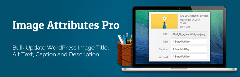 Auto Image Attributes From Filename With Bulk Updater